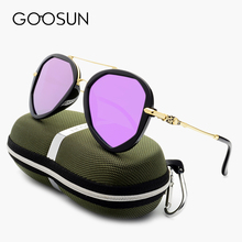 GOOSUN 2017 New Fashion High Quality Polarized Sunglasses Women Brand Designer Colorful coating Sun Glasses for Driving UV400
