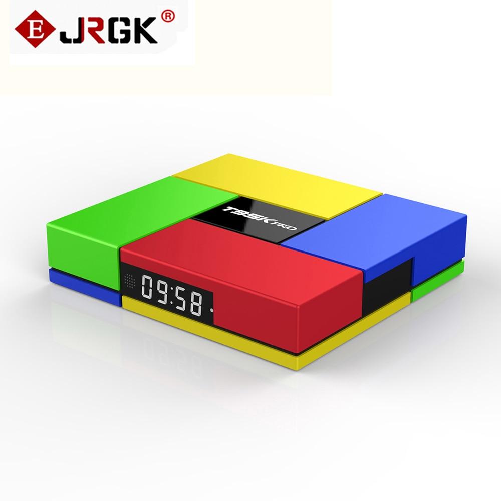 JRGK T95K PRO Android 6.0 TV box Amlogic S912 Octa Core 2 GB IPTV de la Caja DDR