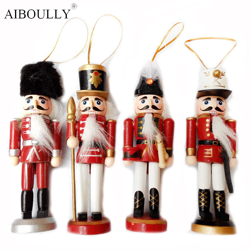 2016 christmas nutcracker decorative accessories small tin soldier humanoid toy puppet toys the childs christmas gift