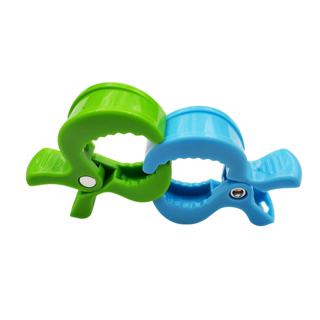 2pc/lot Baby Colorful Car Seat Accessories Plastic Pushchair Toy Clip Pram Stroller Peg To Hook Cover Blanket Mosquito Net Clips 4