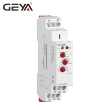 цена на GEYA Delay on Star Delta Controller Relay 16A Soft Starter for the Motor Protection Relay AC230V, AC415V, AC/DC1