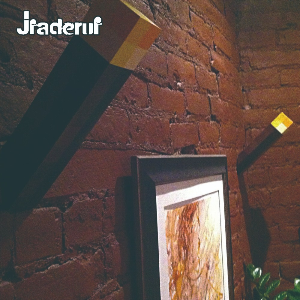 Jiaderui Creative Torch Night Light LED Diamond Square Table Lamp Hand Held Up Minecraft Wall Torch for Decor kids Children Gift
