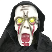 Halloween decoration supplies voice control electric ghost bar haunted house props terror