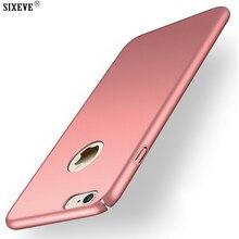 Оригинальный чехол SIXEVE для iPhone 6 s, 6 s, 5, 7, 8 Plus, X, XR, XS, MAX, 6Plus, 7Plus, 8 Plus, жесткий пластиковый высококачественный чехол-накладка на заднюю панель со...