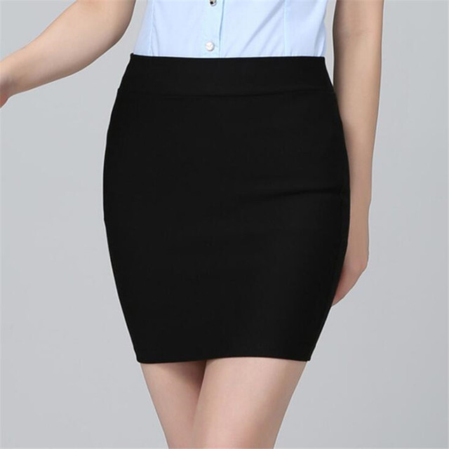YRRETY Summer Package Hip A-Line Skirt Women Fashion Ladies Sexy Seamless Elastic Pleated High Waist Slim Mini Party Skirts 2020 1