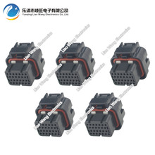 5 sets 26 Pin Female Connector Connector FCI Replacement ECU Plug Terminal 3-1437290-7 26P цена