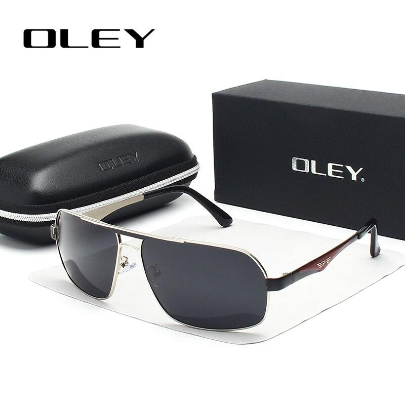 463d7771502d0 OLEY Marca Unisex Dos Homens de aço inoxidável Eyewears Acessórios Óculos  De Sol Para Homens Polarizada Óculos de Sol Espelho Feminino Y1543 em Óculos  de ...