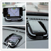 Car anti skid pad mat Mobile phone car Accessories For Nissan Tidda Livida X Trail Qashqai