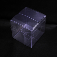 Retail Wedding Favor Gift Storage Clear PVC Plastic Boxes For Candy Chocolate Birthday Party Small Craft