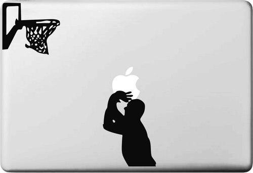 Shooting Basketball Sticker for font b apple b font Macbook Air 11 12 13 Pro 13
