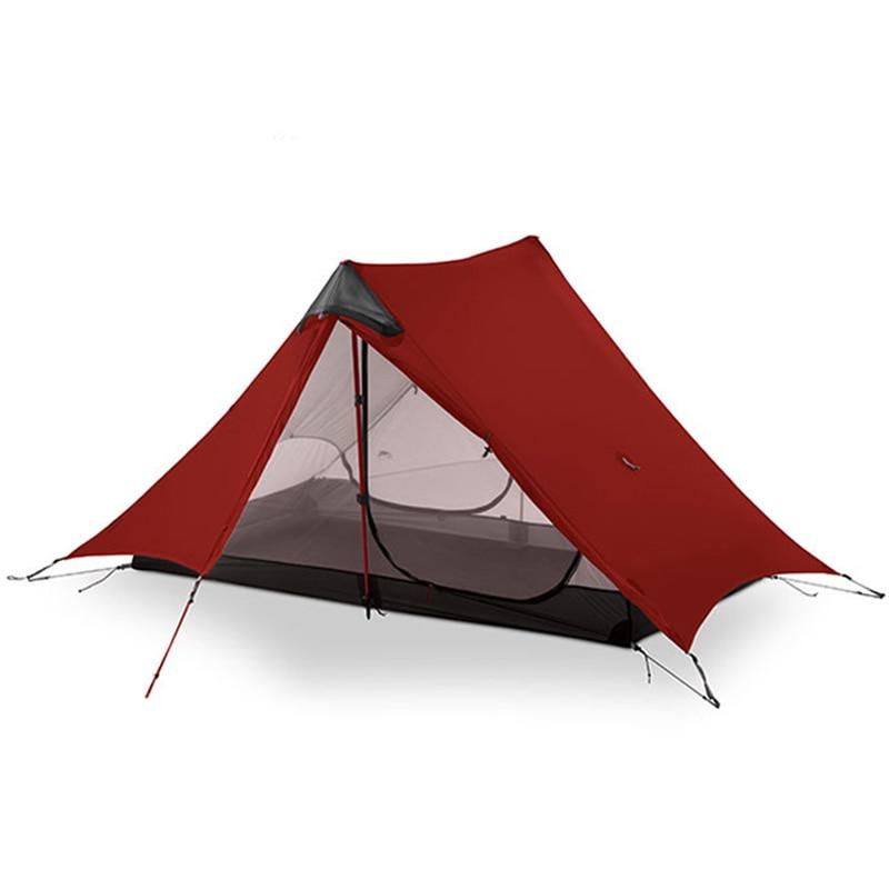 3F UL GEAR LanShan 2 personnes tente de Camping ultra léger 3/4 saison tente équipement de Camp en plein air 2019 nouveau noir/rouge/blanc/jaune - 5