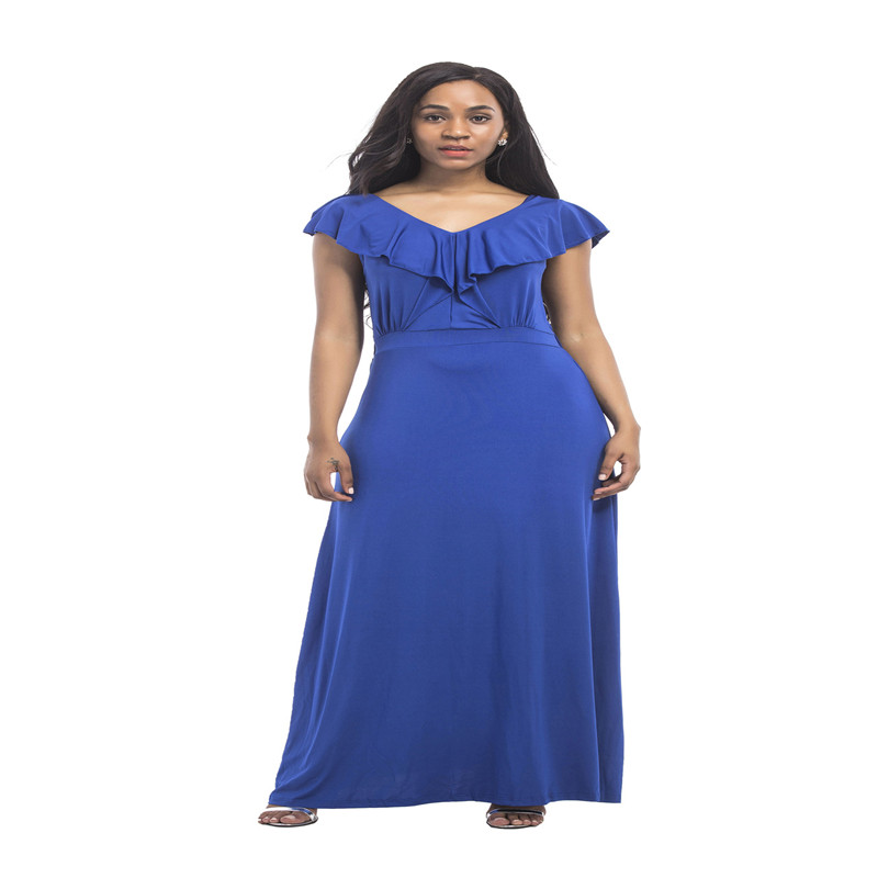 Summer Southeast Asia new hot fashion national style loose wide leg fat MM middle aged women sexy dress in Dresses from Women 39 s Clothing
