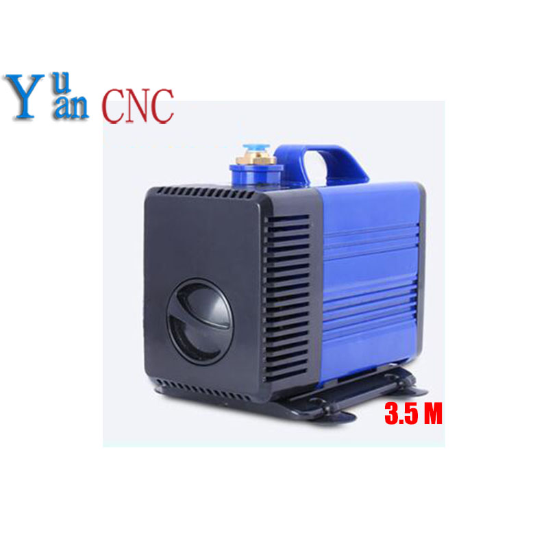 8mm water nozzle submersible water pump 80w 220V water pump for cnc router spindle motor Engraving machine pumps 3.5m cnc router pump 75w 3 2m engraving machine submersible pumps spindle cooling water pump ultra quiet