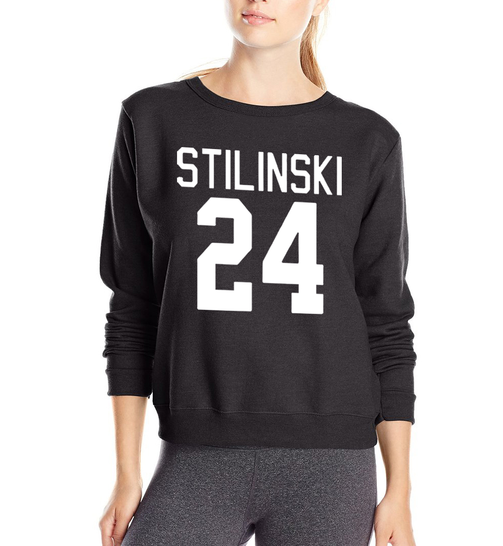 stilinski 24 2016 autumn women sweatshirt crop top suits for lady casual fleece hoodies femme. Black Bedroom Furniture Sets. Home Design Ideas