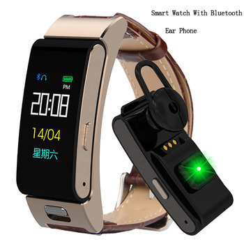 Fitness Watch Men Women Bluetooth Talk Band Heart Rate Monitor Sports Smart Watch For Run Call Earphone Wristband Android IOS