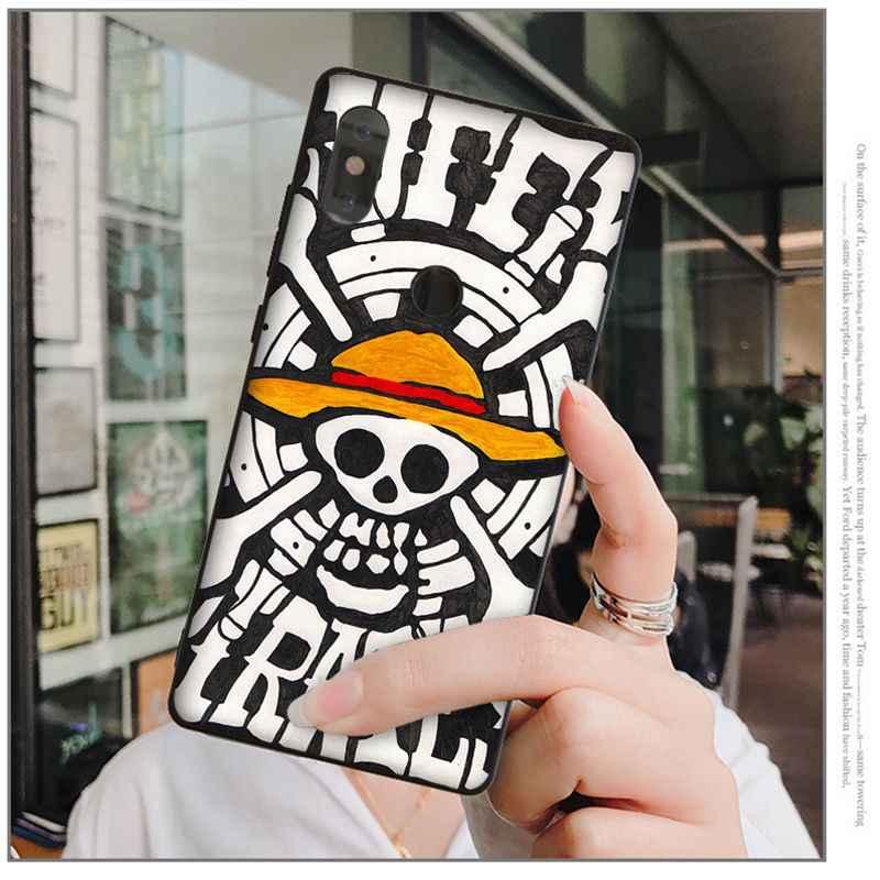 Babaite אנימה חתיכה אחת TPU רך סיליקון שחור טלפון מקרה עבור שיאו mi mi 6 8 8 SE הערה 3 mi הערה 3 mi x 2 2 s מיל mi 5 Coque פגז