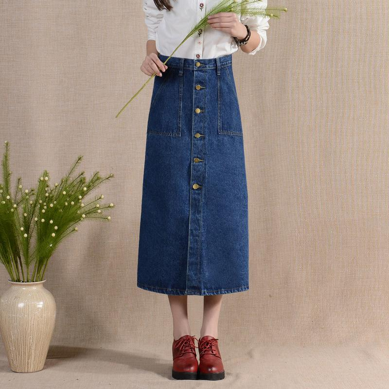 Online Get Cheap Denim Midi Skirts -Aliexpress.com | Alibaba Group