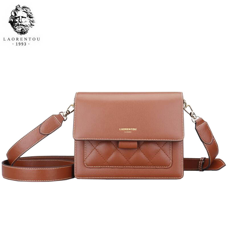 LAORENTOU high quality fashion luxury brand small bag 2019 new Sen series wild Messenger bag casual retro one shoulder organ bagLAORENTOU high quality fashion luxury brand small bag 2019 new Sen series wild Messenger bag casual retro one shoulder organ bag
