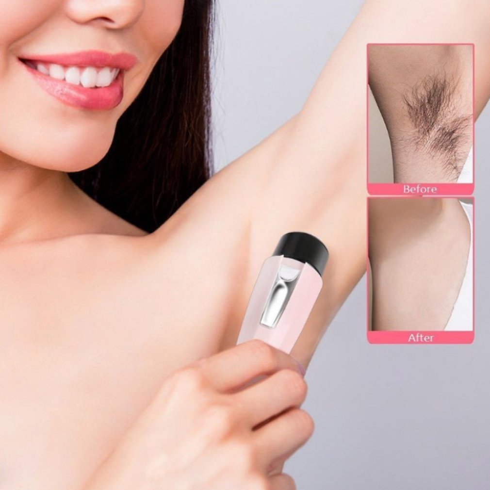 Electric Women Shaver Hair Depilator Razor Mini Shaver Portable Fashion Hair Removal for Face Armpit Leg Body in Hair Removal Cream from Beauty Health