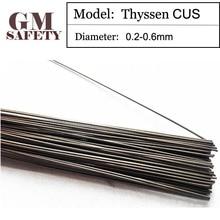 Thyssen CUS Soldering Iron Mould Copper Laser Welding wire for Solder Welders(0.2/0.3/0.4/0.5/0.6 mm) Made in Germany