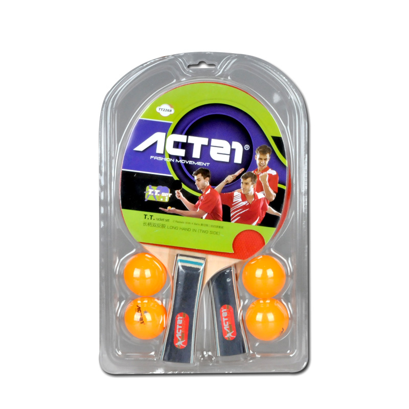 Table tennis (ping pong) set bat, four ball two beat, quality is trustworthy, super - cost-effective hurry to buy it image
