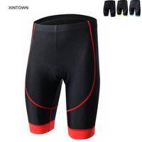XINTOWN Men Team Bike Bicycle Shorts 3D Padded Cycling Riding Shorts Outdoor Sports Bike Shorts 4