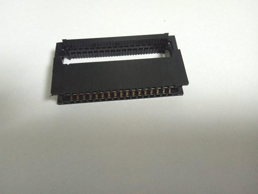 10pcs 34 Pin 2 54 Pitch Card Edge Female Crimp Idc