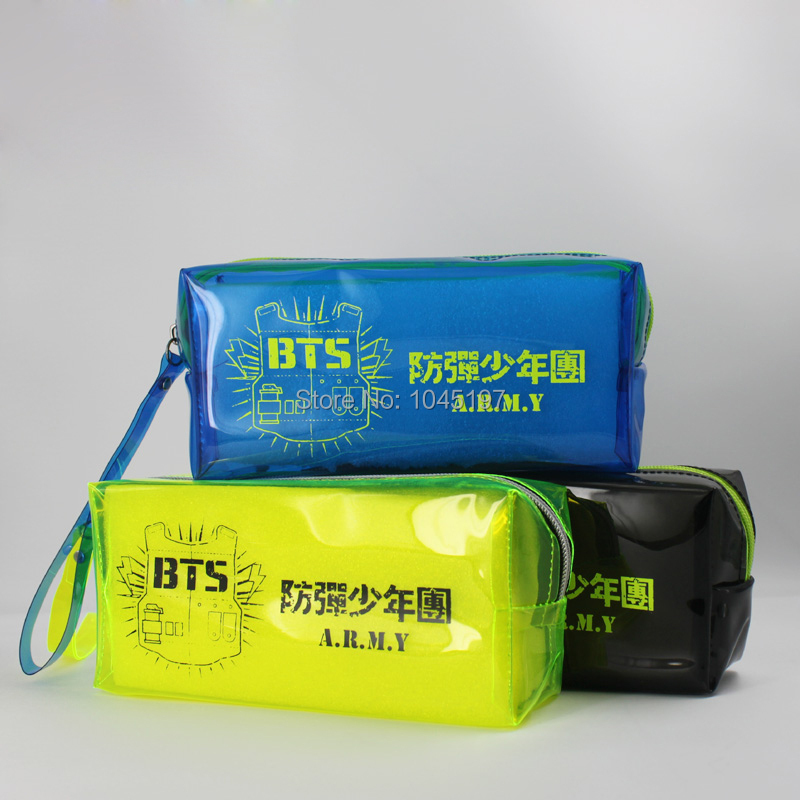 Bangtan Boys Kpop BTS pencil case makeup-bag KPOP New - kpop store
