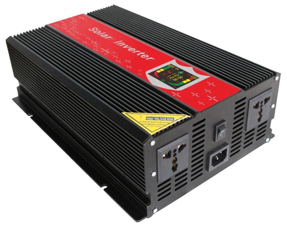 Digital Display Car Power Inverter 12V 220V DC AC 1000W 2000W 3000W Vehicle Truck Power Adapter