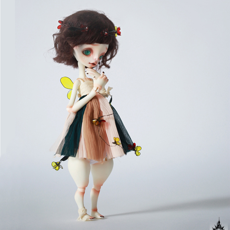 BJD doll -DC \ 6 stars Betty naked baby AoaoMeow tetiana tikhovska paper doll