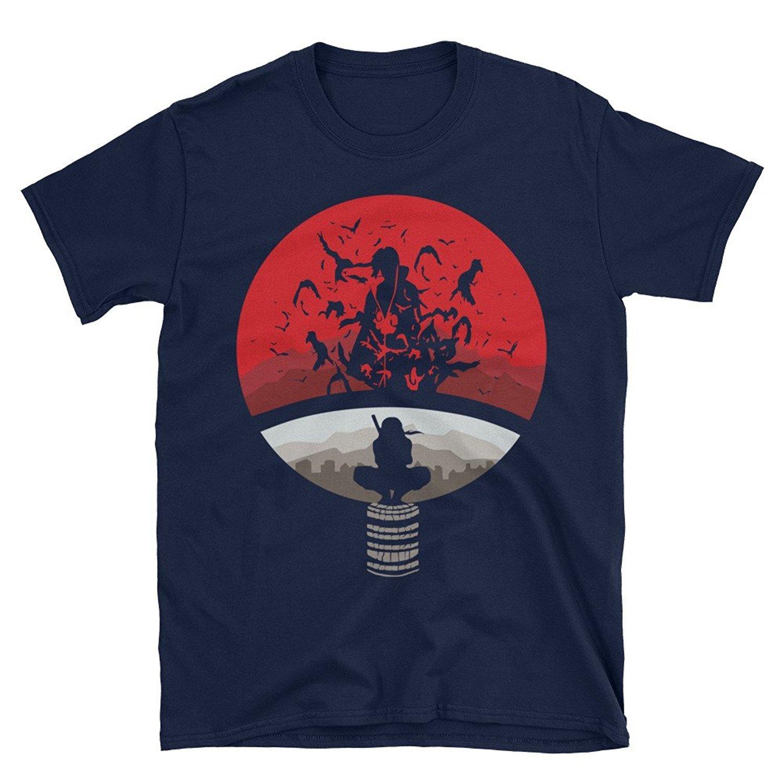 2019 New Summer High Quality Tea Shirt Naruto Shippuden Uchiha Unisex T shirt Cool T shirt in T Shirts from Men 39 s Clothing