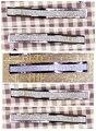 Paso del orificio de 128mm de Aleación de Zinc plata color crystal perillas tirones del cajón muebles manija del gabinete
