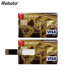 Image 4 - Real Capacity Pendrive Credit Card Pen Drive Bank Card USB Flash Drive 64GB 32GB 16GB 8GB 4GB Memory Stick