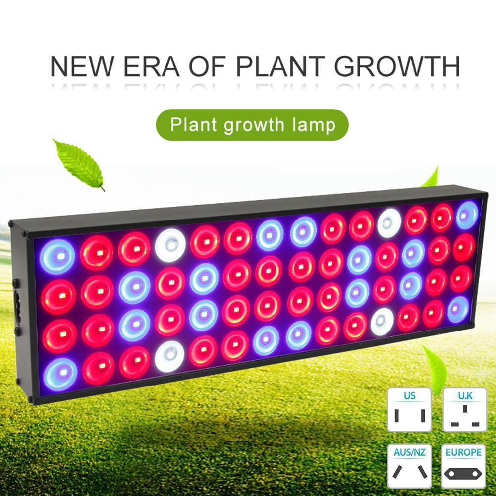 50W LED Plant Grow Light 56 Beads Full Spectrum Grow Light ...
