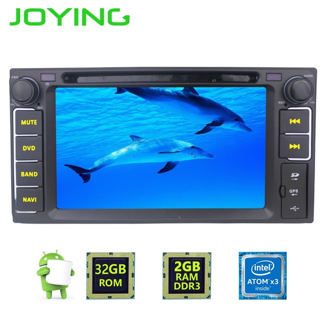 Quad Core 2G+32G 8 2 Din Android 6 0 Car GPS Navigation for Toyota Camry Radio