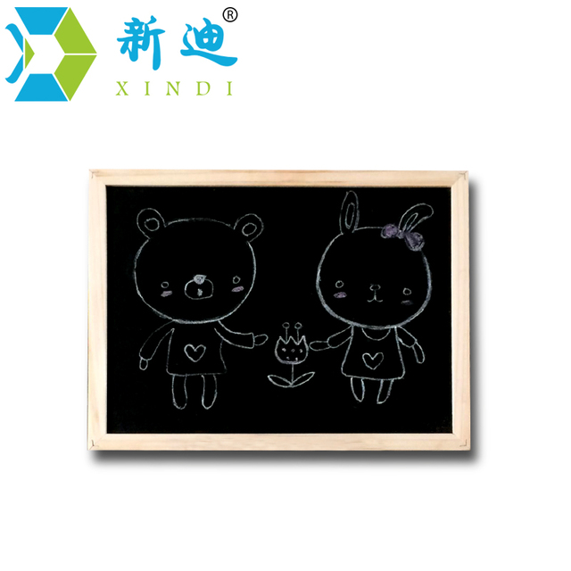 free shipping 2018 natural slate chalk blackboard office supplier 20
