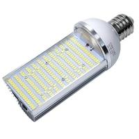 30w 50w 60w 80w led street light road lamp LED corn light E27 E40 LED horizontal cross plug industrial light source 110v 220V