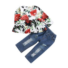 fa2d63563c0d7 Girls Dress Jean and Top Sets Promotion-Shop for Promotional Girls ...