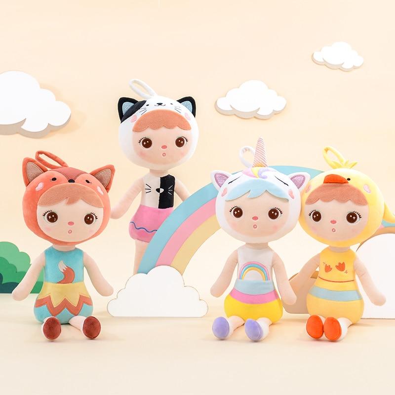 45cm Metoo Keppel Dolls 2019 New Design Plush Stuffed Animals Unicorn Cat Kawaii Children Birthday Christmas Gift Girl Baby Gi