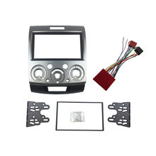 for Ford Everest Ranger Mazda BT-50 Double Din Fascia Stereo Panel With ISO Wiring Harness Trim Kit Face Frame(China)