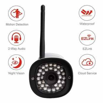 Foscam FI9900P HD 1080P Outdoor WiFi Security Camera Weatherproof IP66 Bullet 2.0MP IP Wireless Surveillance Outdoor IP Camera