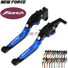 For Yamaha FZS 600 FZS600 Fazer 1998-2003 1999 2000 2001 2002 Red+Black CNC Motorcycle Accessories Adjustable Brake Clutch Lever