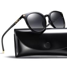 Fashion HD Polarized Sunglasses Women Brand Designer UV400 Cat Eye Sunglasses Female High Quality lady's shades with box Z1908 недорго, оригинальная цена