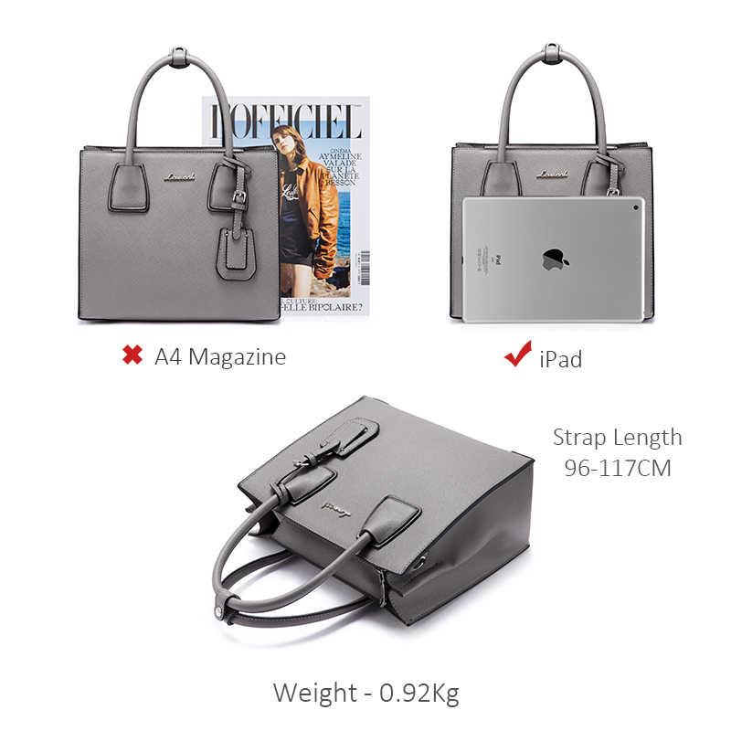 LOVEVOOK حقيبة يد المرأة حقيبة ساعي الكتف الإناث مكتب حمل حقائب كروسبودي للنساء 2018 المحافظ وحقائب السفر المدرسة
