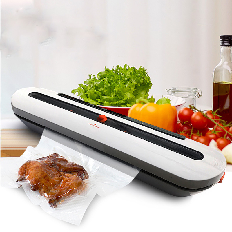 Vacuum Food Sealers 220V/110V Household Food Automatic Vacuum Sealer Packaging Machine with 10pcs Bags Best Kitchen Appliances