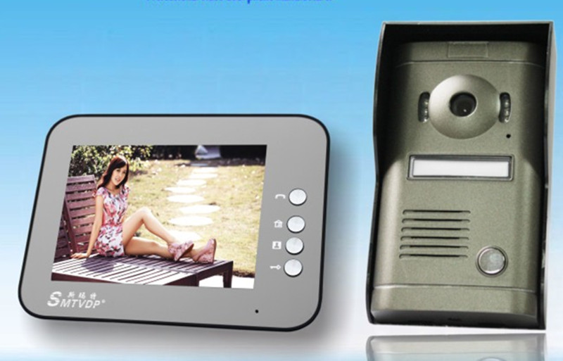 8 Inch TFT Monitor Rain-Proof Intercom Video Door Phone V8C-P