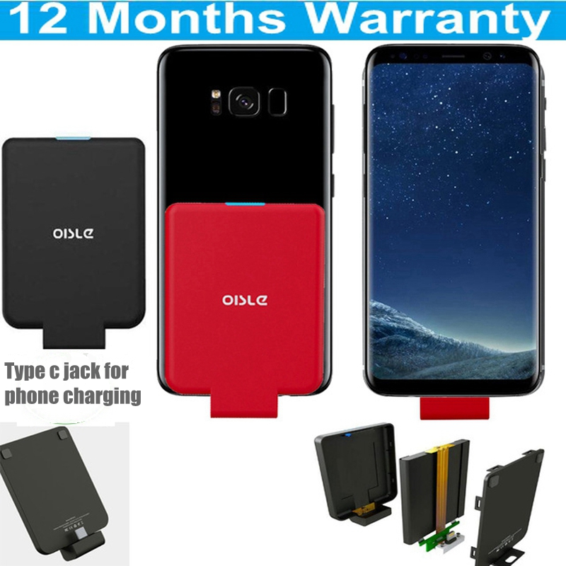 Oisle 4500mah <font><b>Battery</b></font> <font><b>Case</b></font> for iPhone XS iPhone 8 7 6 Samsung S10+ S9 Note9 Xiaomi Mi9 <font><b>Huawei</b></font> <font><b>P20</b></font> Mate20 Charger <font><b>Battery</b></font> <font><b>Case</b></font> image