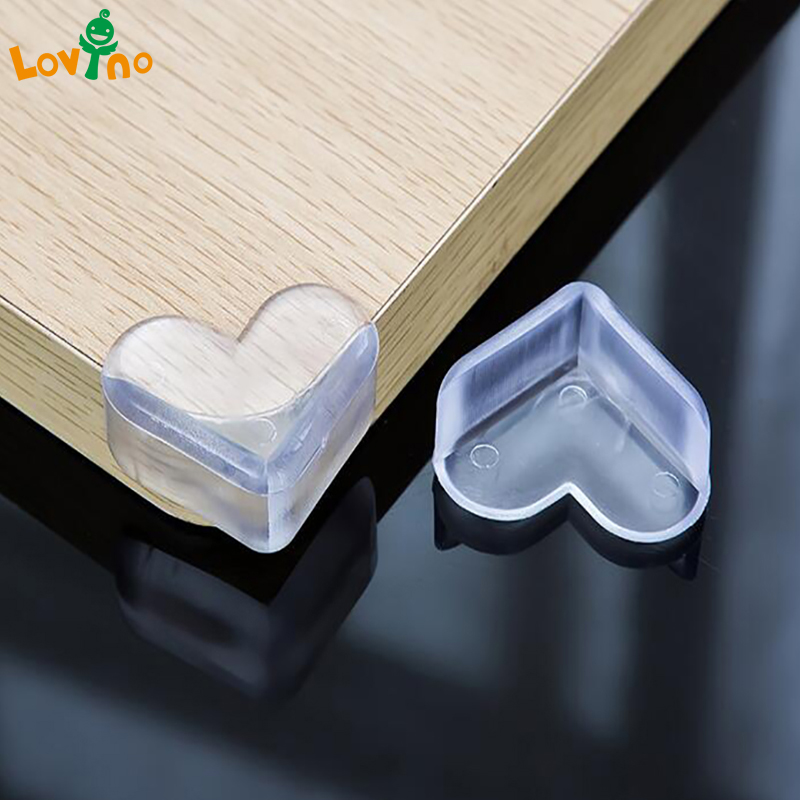 4 Pcs/pack Baby Protection Kids Boy Girls Children Safety Products Baby Table Protection Arc Shape Corner Guards