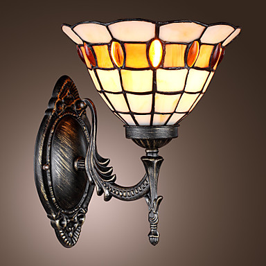 Tiffany LED Vintage Wall Lamp For Bedroom Home Lighting Retro Wall Sconce Arandela Lampara Pared led wall sconce simple modern artistic led wall lamp for home lighting arandela lampara de pared