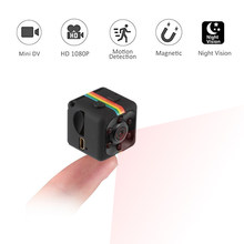 SQ11 Mini Camera 1080P Sensor Portable Security Camcorder small cam Night Vision Motion Detection Support Hidden TF card pk sq 8(China)